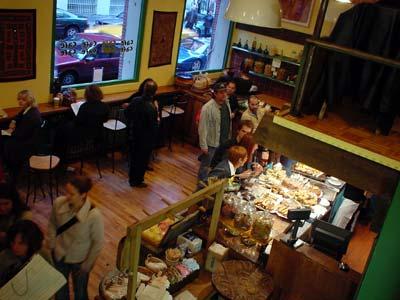 Cafe Cafe, SoHo, NYC