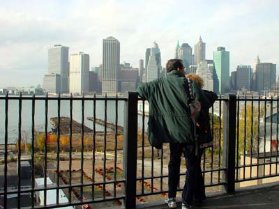 Couple, Brooklyn Heights Promenade