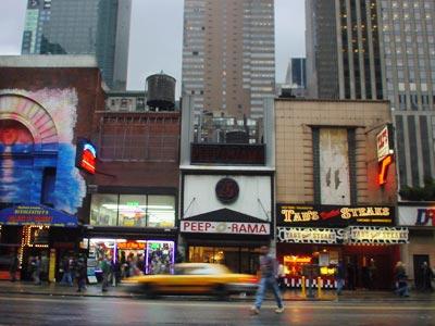 peep o rama w42nd st manhattan new york nyc usa