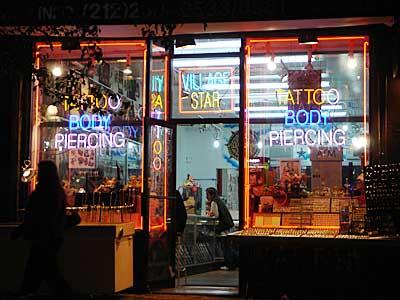 Village Star Tattoos And Piercings 182 Bleecker St Greenwich