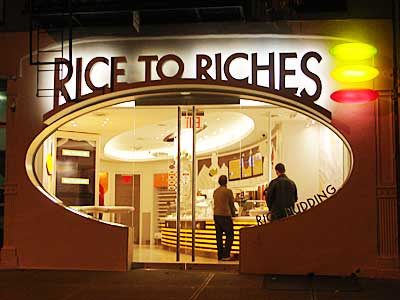 Rice to Riches, 37 Spring St, Manhattan, New York, NYC, USA