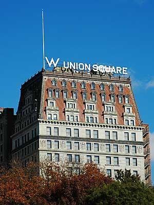 w hotel union square park avenue south new york usa. Black Bedroom Furniture Sets. Home Design Ideas