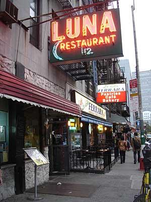 Mulberry Street Restaurants New York City