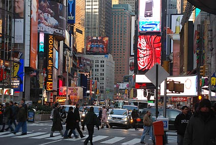 New York Prime >> Times Square photos, Broadway and Seventh Avenue between ...