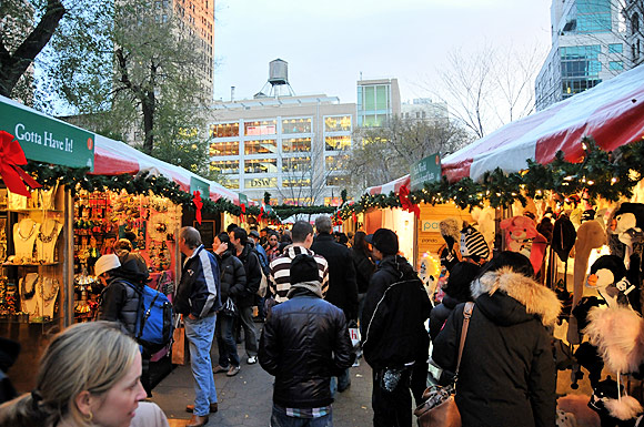 Photos of the Union Square Greenmarket, a farmers' market in the heart of Manhattan, New York, NYC