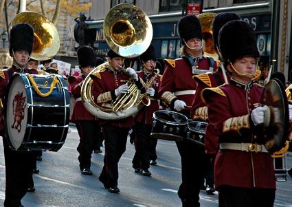 Veterans Day Dragon Nation's Parade Veteran's Day