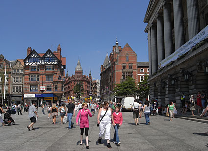 Photos Of Nottingham City Centre And Old Market Square