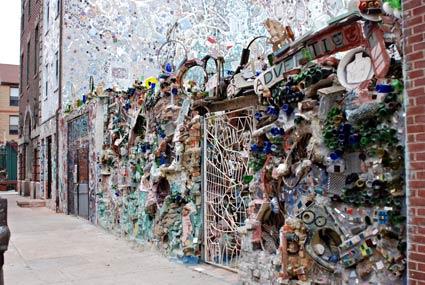 Magic Gardens mosaic murals and street art by Isaiah Zagar South
