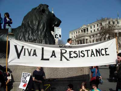 Image result for viva la resistance protest