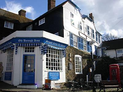 Copyright Licensing Old Borough Arms Hotel Mermaid Street Rye Sus Uk