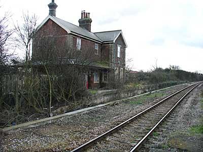 Old Station Building Winchelsea Station Rye Sussex