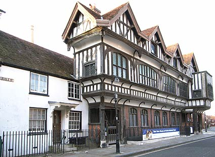 Tudor merchant's house