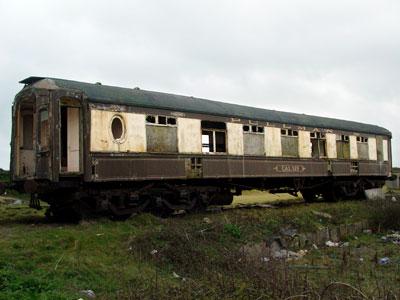 Calais Abandoned Pullman Coach Marazion Great Western
