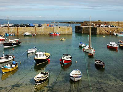 Mousehole Harbour Mousehole Cornwall August 2005