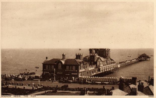 Bognor Regis Pier Photographs Photos Of The Victorian