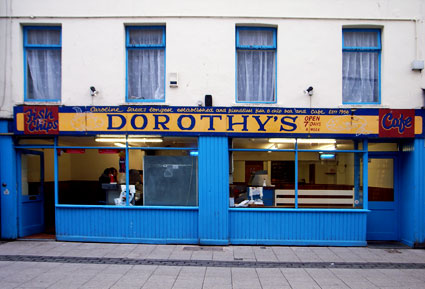 Dorothy's Fish and Chip bar, Caroline Street