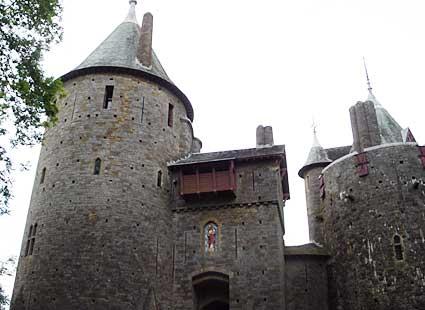 Castell Coch Tongwynlais North Cardiff South Glamorgan Wales A