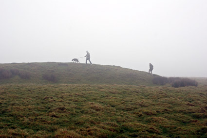 Garth Mountain, Gwaelod-y-Garth, south Wales