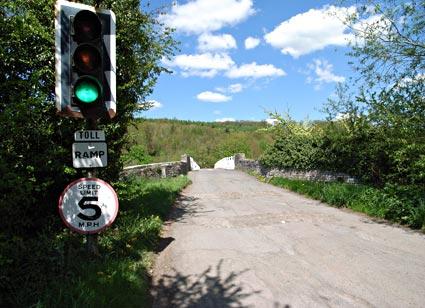 Whitney Toll Bridge, Whitney on Wye, Powys, Wales