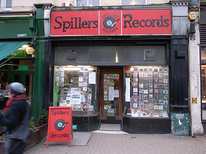 Spillers recods, Cardiff