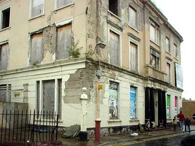 Cardiff Docks Derelict Building
