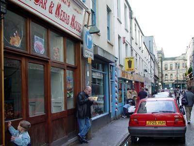 Caroline Street Cardiff Caroline Street Chip Shops