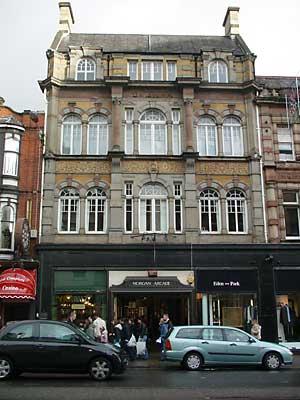Morgan Arcade St Mary Street Cardiff South Wales Photos