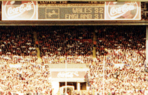 Wales 32 England 31, Wembley, 1999: oh yes!