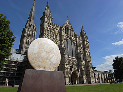 Salisbury city and cathedral