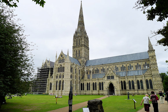 Photos of Salisbury, cathedral city in Wiltshire, south west England, UK, August 2011