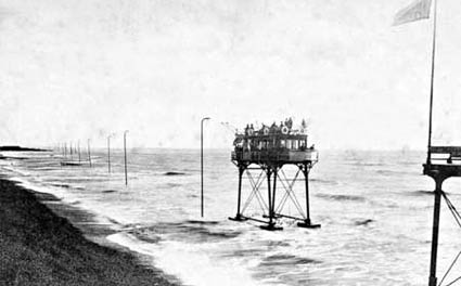Volk's Electric Sea Railway, Daddy Long Legs, The Brighton