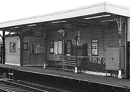 East Brixton Station London