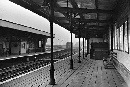 East Brixton railway station, Brixton, London