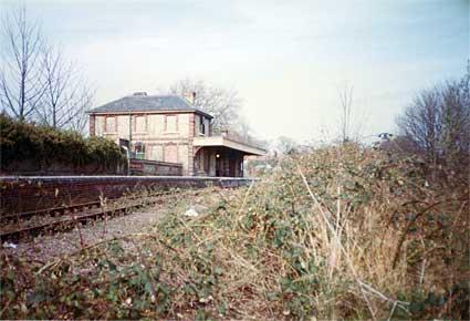 England Railway Station Sudbury Railway Station