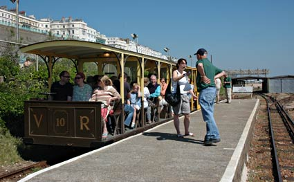 Volk S Electric Railway Palace Pier To Black Rock