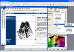 adobe web editor