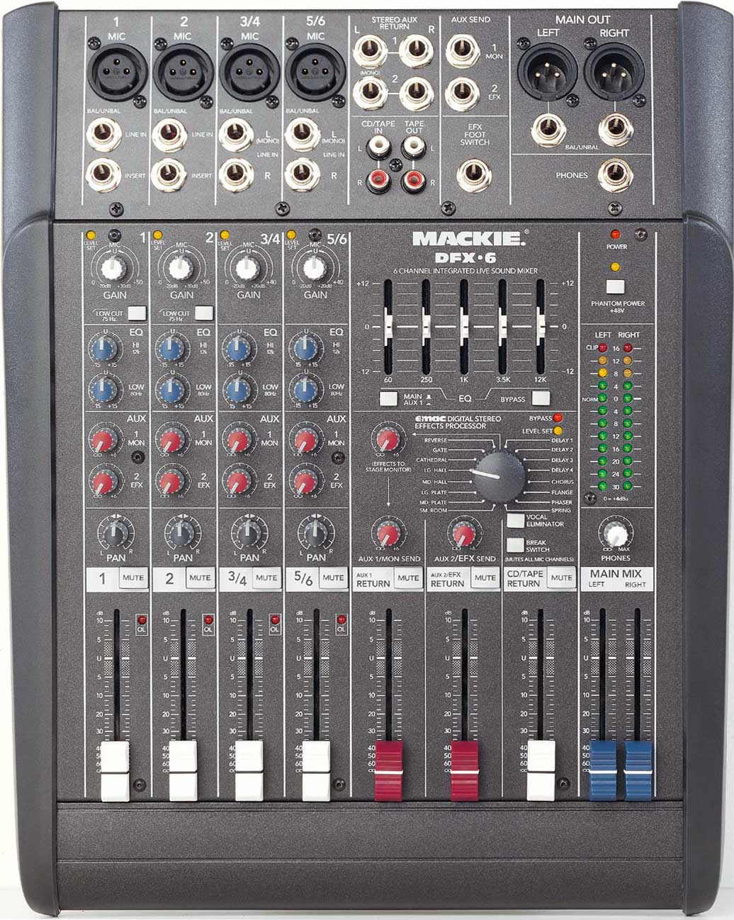 mackie dfx 6 sound mixer review. Black Bedroom Furniture Sets. Home Design Ideas