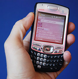 Palm Treo 750v review