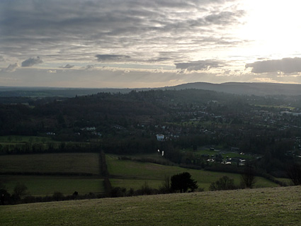 Box Hill walk,  National Trust, North Downs, Tadworth, Surrey, England UK