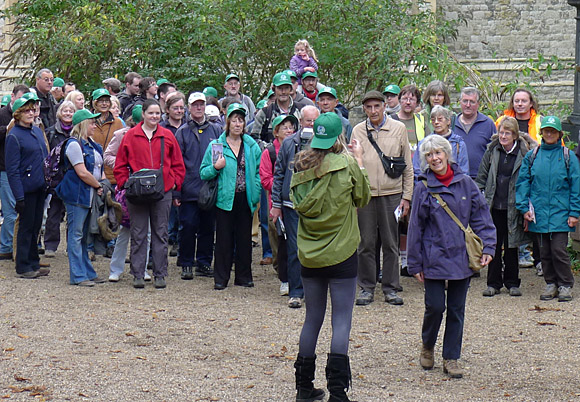 Green Chain walk, inauguration of Nunhead to Dulwich Park and Crystal Palace Park section, south London, 26th September 2010