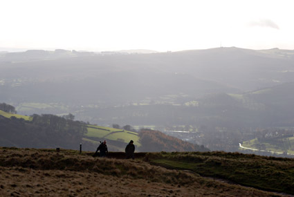 Hathersage walking holiday, Derwent Valley, Derbyshire, England