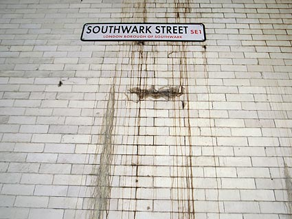 urban75 walk, Haunted London